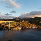Kylesku Bridge by Michael Hadfield
