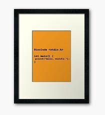 I am a geek Framed Print