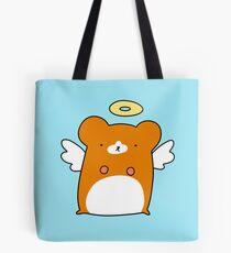 Angel Hamster Tote Bag