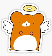 Angel Hamster Sticker