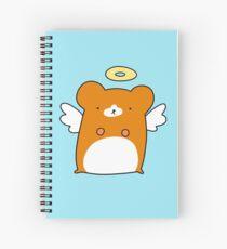 Angel Hamster Spiral Notebook