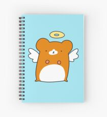 Angel Hamster Spiral Notebook
