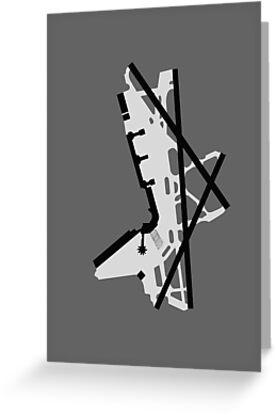 Washington National Airport Diagram by vidicious