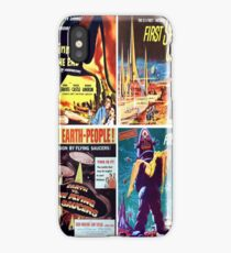 Sci-Fi Movie Poster Art Collection #3 iPhone Case/Skin