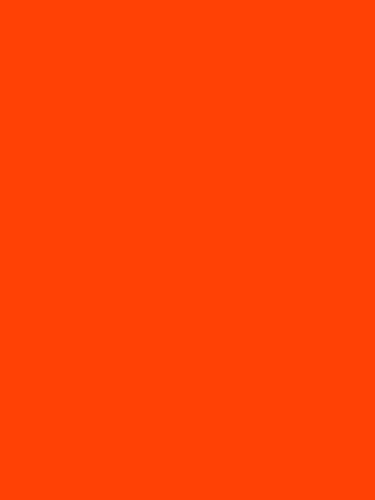 Bright Fluorescent Attack Orange Neon by podartist