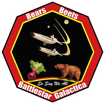 bears beetsb attlestar galactica by goool