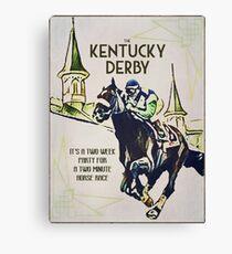 Es ist wieder Kentucky Derby Zeit! Leinwanddruck