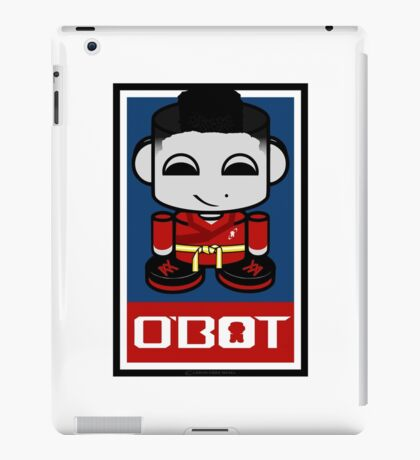 Ace Yum O'BABYBOT Toy Robot 2.0 iPad Case/Skin
