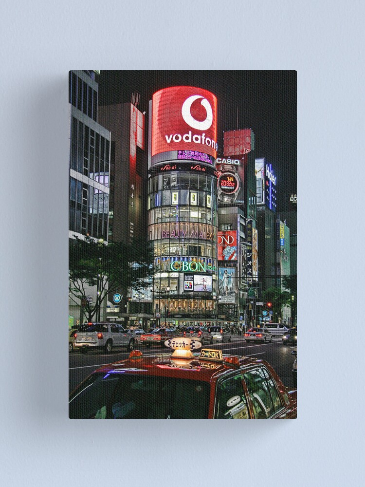 Alternate view of Ginza Lights Canvas Print