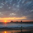 EVENING BEGINS WITH A SUNSET by fsmitchellphoto