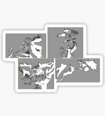 Cowboy Bebop Panels 2 Sticker