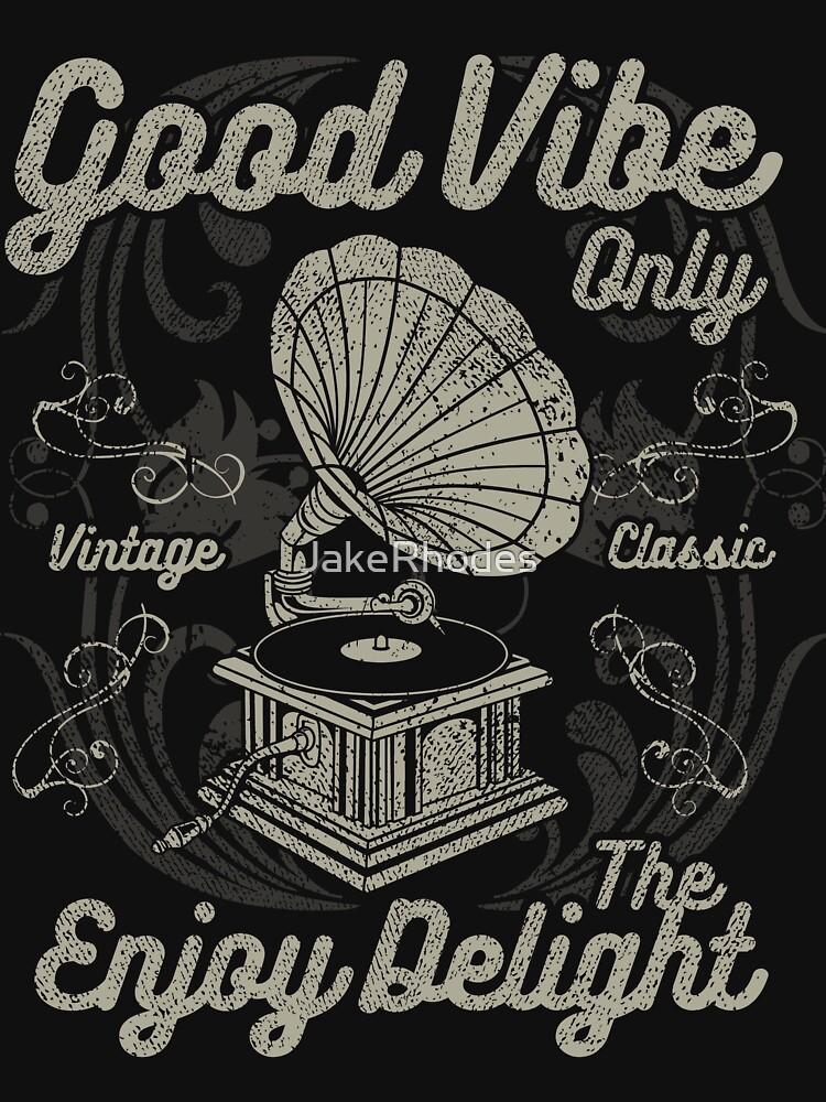 Retro Vintage Distressed Design by JakeRhodes