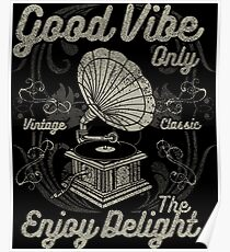 Retro Vintage Distressed Design Poster