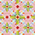 Pink Paisley Beaux Arts by PatriciaSheaArt