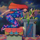 Cazando mariposas by Jose De la Barra