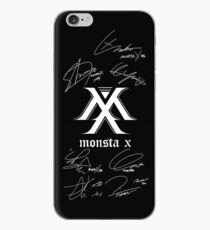 MONSTA X Monbebe + Signatures Black iPhone Case
