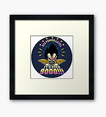 Vegeta Power Framed Print
