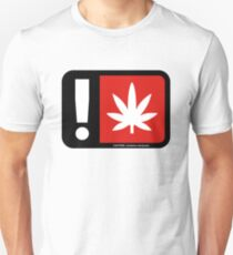 Caution - Contains Marijuana Unisex T-Shirt