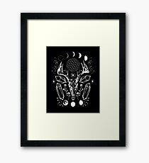 Crystal Moon. Framed Print