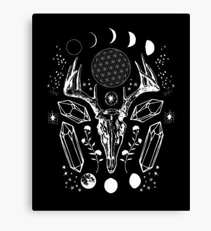 Crystal Moon. Canvas Print