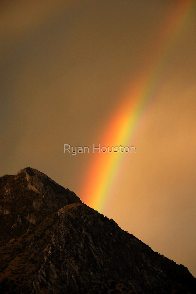 Rainbow American Fork Canyon by Ryan Houston