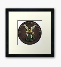 Michael Law Enforcement  Framed Print
