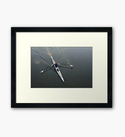 Early Rower Framed Print