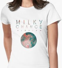 Milky Chance Blossom Women's Fitted T-Shirt