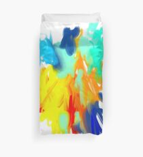 Brigt MultiColors Abstract Painting Duvet Cover