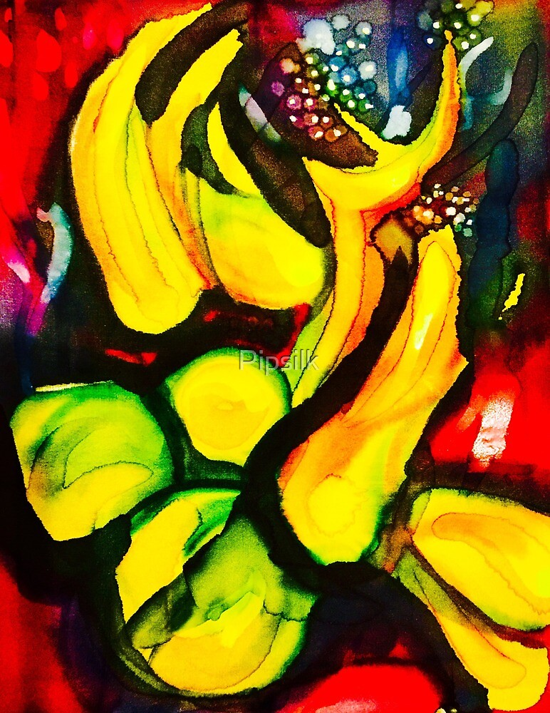 abstract fruit by Pipsilk