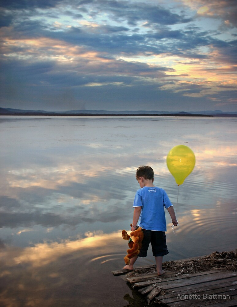 Dreamy Sunset by Annette Blattman