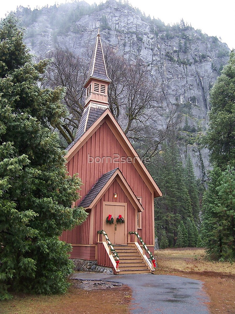 Lonely Chapel by born2serve