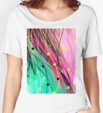 Modern Abstract Painting Women's Relaxed Fit T-Shirt