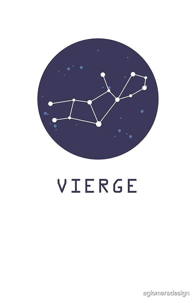 Virgo Constellation by aglomeradesign