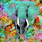 ELEPHANT MAGNIFICENT by Saundra Myles