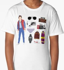 Back to the Future : Time Traveler Essentials 1985 Long T-Shirt