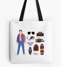 Back to the Future : Time Traveler Essentials 1985 Tote Bag