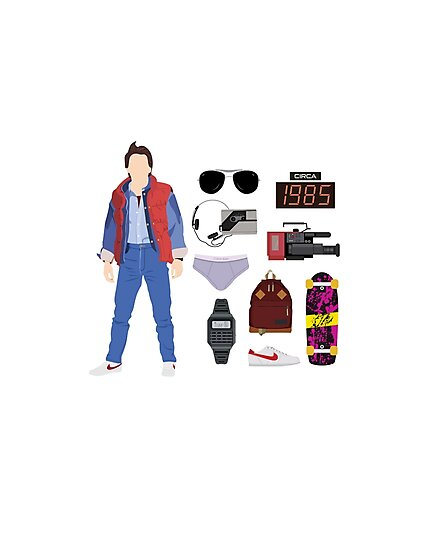 Back to the Future : Time Traveler Essentials 1985 by Amanda Weedmark