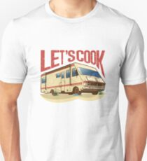 Breaking Bad RV (Lets Cook) Unisex T-Shirt