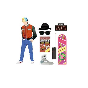 Regreso al futuro: Time Traveler Essentials 2015 de amandaweedmark