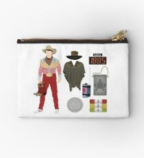 Back to the Future : Time Traveler Essentials 1885 Studio Pouch