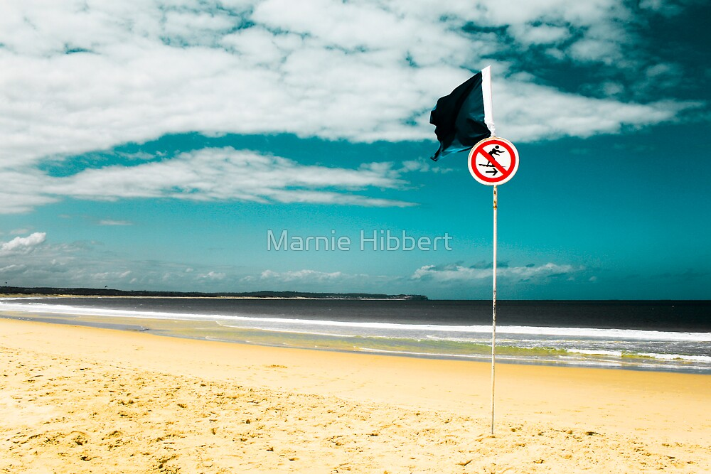 Surfs down by Marnie Hibbert