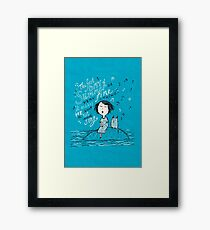 A Little Summer Song Framed Print