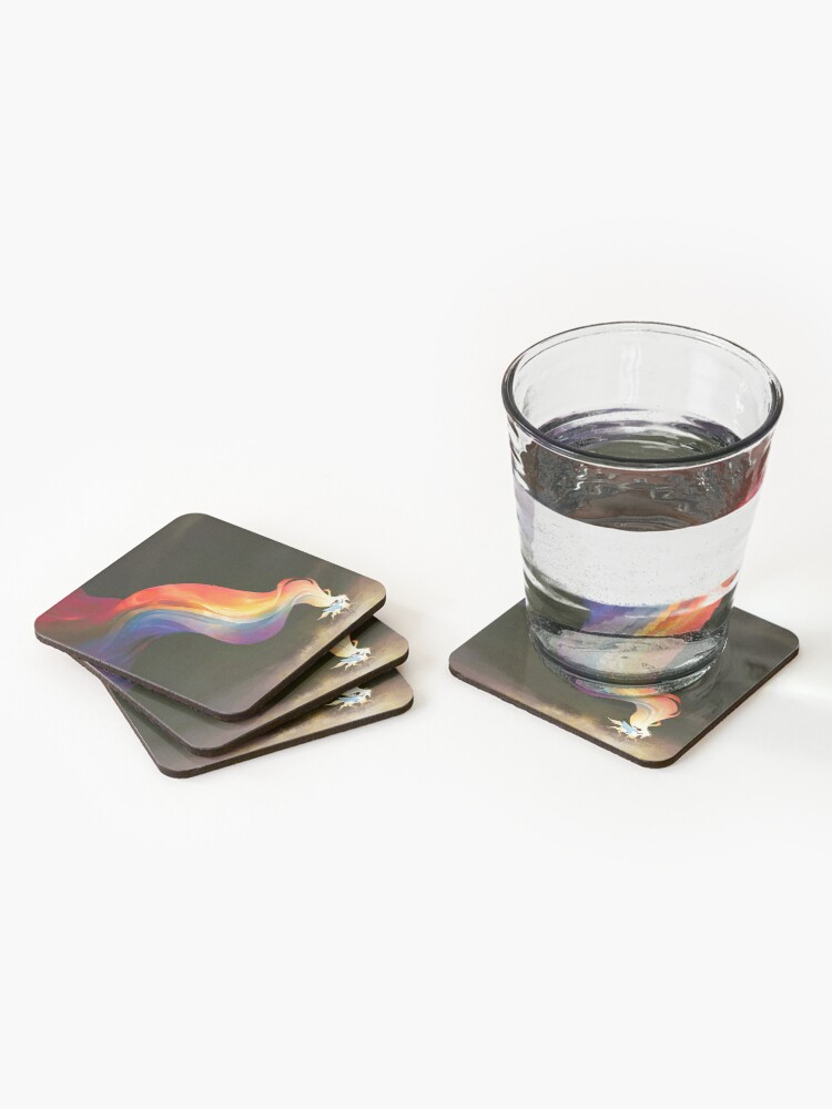 Alternate view of The End Coasters (Set of 4)
