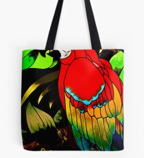 Leaded Parrot Tote Bag