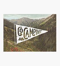 Go Camping Photographic Print