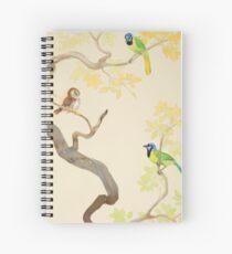Fierce Little Pygmy Owl Spiral Notebook