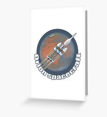 Orion Spacecraft  Greeting Card