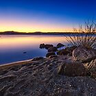 Taupo Twilight by Ian Rushton