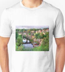 View From The Castle - Knaresborough Unisex T-Shirt